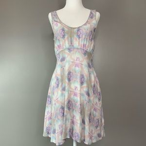 Free People pastel dress